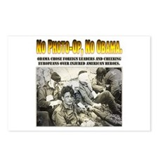 Obama dissed troops Postcards (Package of 8)