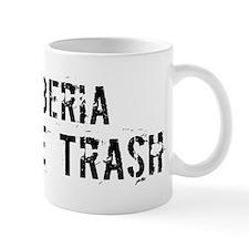 Liberia White Trash Mug