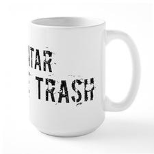 Qatar White Trash Mug