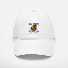 Half Woman Half Sloth Baseball Baseball Cap