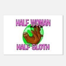 Half Woman Half Sloth Postcards (Package of 8)