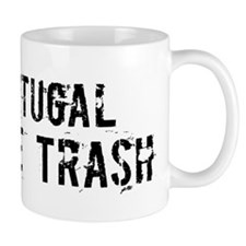 Portugal White Trash Mug