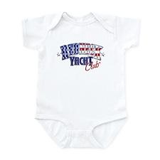Redneck White & Blue Infant Bodysuit