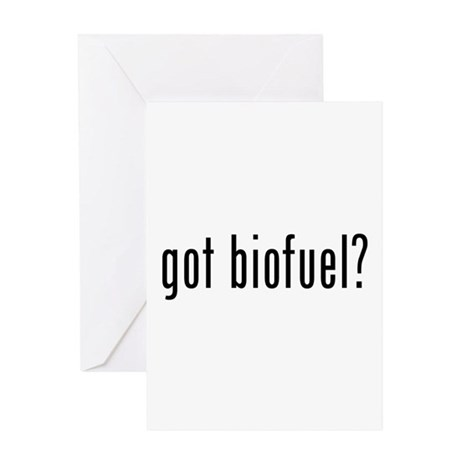 got biofuel? Greeting Card