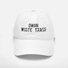Oman White Trash Baseball Baseball Cap