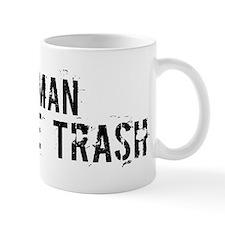 Oman White Trash Mug