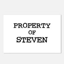 Property of Steven Postcards (Package of 8)