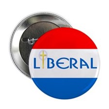 Christian Liberal Button