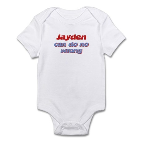 Jayden Can Do No Wrong Infant Bodysuit