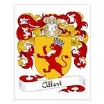 Albert Family Crest Small Poster
