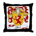 Albert Family Crest Throw Pillow