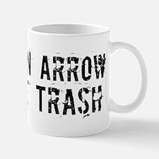 Broken Arrow White Trash Mug