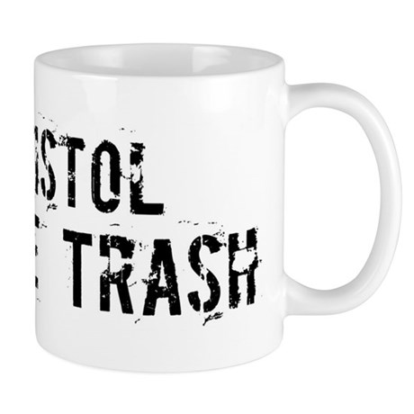 Bristol White Trash Mug