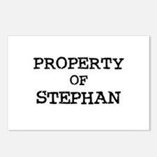 Property of Stephan Postcards (Package of 8)