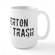 Beaverton White Trash Mug