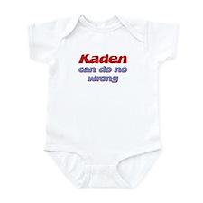 Kaden Can Do No Wrong Infant Bodysuit