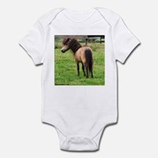 Miniature Horse Buckin Velvet Infant Creeper