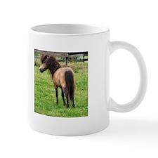 Miniature Horse Buckin Velvet Mug
