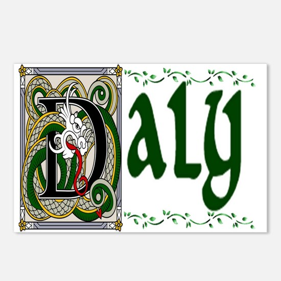 Daly Celtic Dragon Postcards (Package of 8)