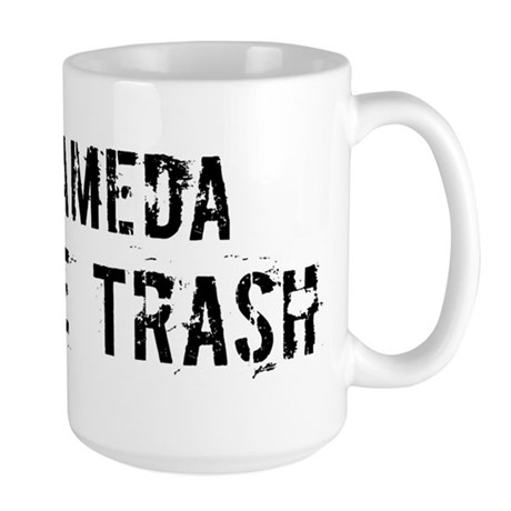 Alameda White Trash Large Mug