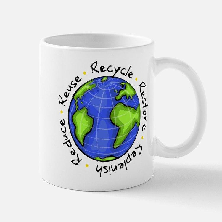 Recycle - Reuse - Reduce - Re Mug