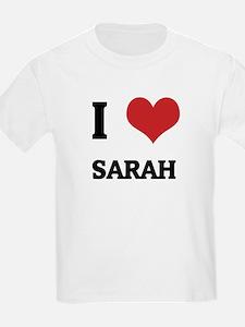 I Love Sarah Kids T-Shirt