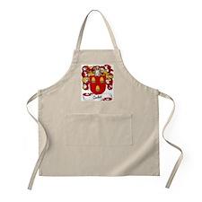 Audet Family Crest BBQ Apron