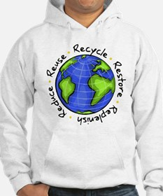 Recycle - Reuse - Reduce - Re Hoodie