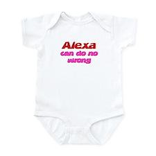 Alexa Can Do No Wrong Infant Bodysuit