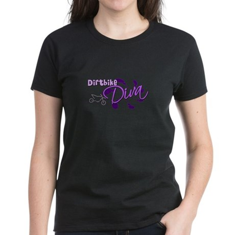 Dirtbike Diva Women's Dark T-Shirt