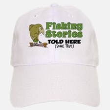 Fishing Stories Baseball Baseball Cap