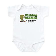 Fishing Stories Infant Bodysuit