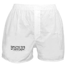 Listen to the fishing voices Boxer Shorts