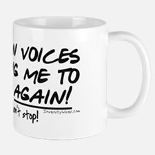 Listen to the fishing voices Mug