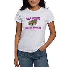 Half Woman Half Platypus Tee