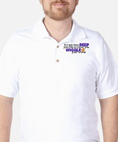 Wiggle your worm Golf Shirt