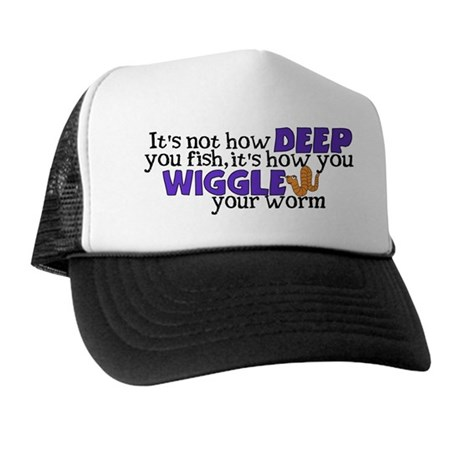 Wiggle your worm Trucker Hat