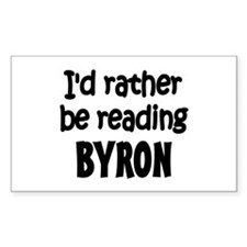 Byron Rectangle Decal