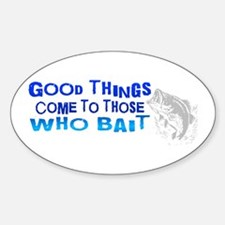 Good Things Oval Decal