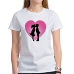 Couple Kissing Women's T-Shirt