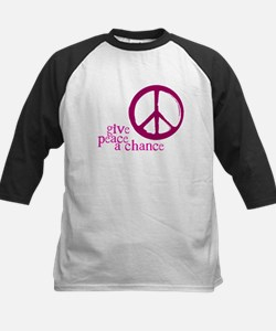 Give Peace a Chance - Pink Tee