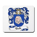 Barbe Family Crest Mousepad
