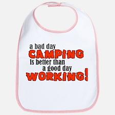 Bad Day Camping Bib