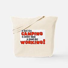 Bad Day Camping Tote Bag