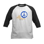 Give Peace a Chance - Blue & Orange Kids Baseball