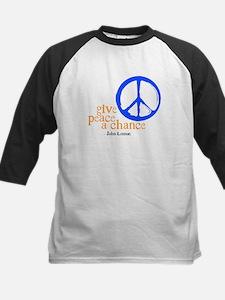 Give Peace a Chance - Blue & Orange Tee