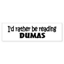 Dumas Bumper Bumper Sticker