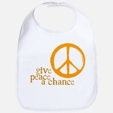 Give Peace a Chance - Orange Bib