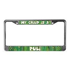 My Kid Puli License Plate Frame