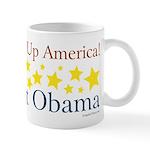 Wake Up America. Elect Obama - Coffee Mug